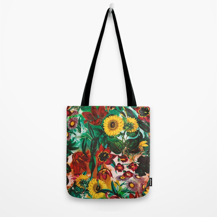 Multicolor Exotic Pattern Tote Bag