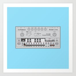 303 Square Art Print