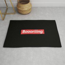 Boooriiing Rug