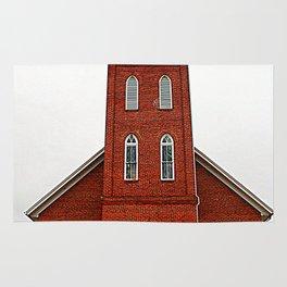 A Brick Church Rug