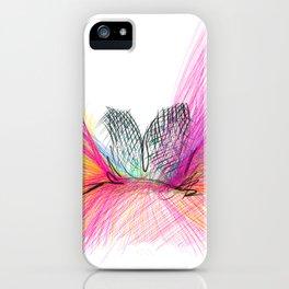 Alas rosadas GLOJAG iPhone Case