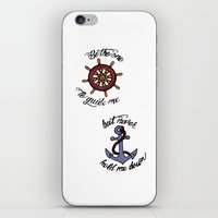 larry stylinson iPhone & iPod Skins featuring Helm and Anchor. (Larry Stylinson) by Arabella
