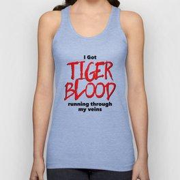 Tiger Blood Unisex Tank Top
