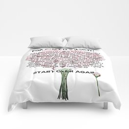 for what it's worth -  Fitzgerald life quote Comforters