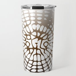 Earth Cymatics Travel Mug