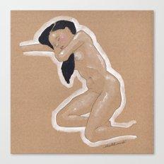 Nude nº3 Canvas Print