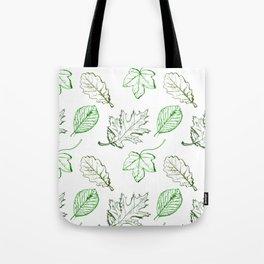 Leaves (greens) Tote Bag