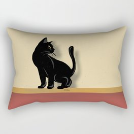 On the wall Rectangular Pillow