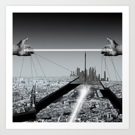 Architect Art Print