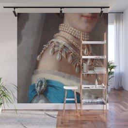 Royal jewels historical fashion Wall Mural