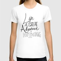 inspirational T-shirts featuring Great Adventure by Leah Flores