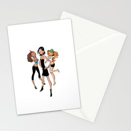 Les Nombrils - Vicky, Karine et Jenny Stationery Cards