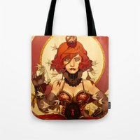 circus Tote Bags featuring Circus by Lettie Bug
