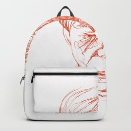 Andy portrait (Red) Backpack