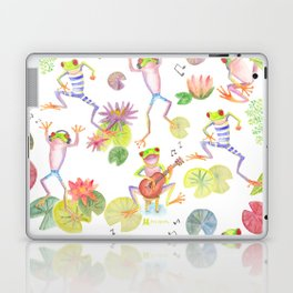Party frogs Laptop & iPad Skin