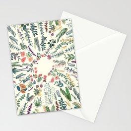 focus garden Stationery Cards