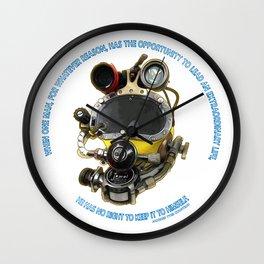 Kirby Morgan Reclaim Extraordinary Wall Clock