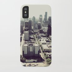 downtown seattle Slim Case iPhone X