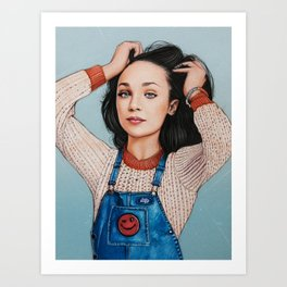 Maddie Ziegler Art Print