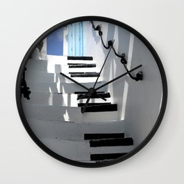 Stairway to Your Best Summer Holiday Wall Clock