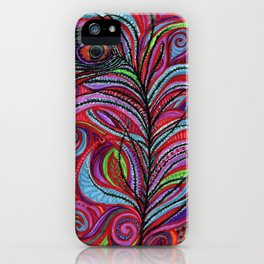 A Bright Feather iPhone Case