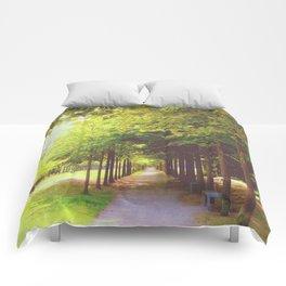 Tree Alley Comforters