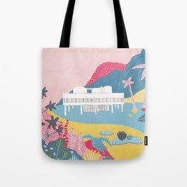 Villa Savoye - Le Corbusier Tote Bag