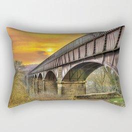 Llangollen Aquaduct Rectangular Pillow