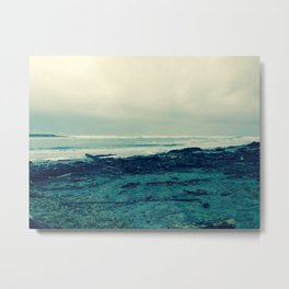 Lonely Ocean Metal Print