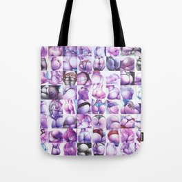 a whole load of butts Tote Bag