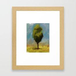 Summer Tree Framed Art Print