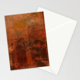 Organic rust Stationery Cards