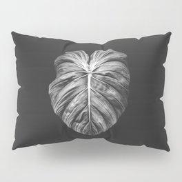 Monstera Deliciosa Black and White Pillow Sham