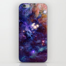Bright nebula iPhone Skin