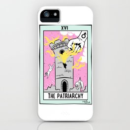The Cards Say Smash the Patriarchy iPhone Case