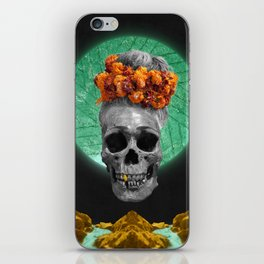 Spiritual Skull Of The Gold Land And The Millstone iPhone Skin
