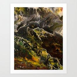 Red Basin Art Print