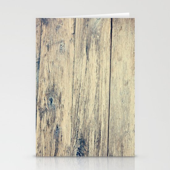 Wood Photography II Stationery Cards
