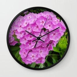Bundle Flowers Wall Clock