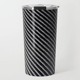 Carbon Fiber texture Travel Mug