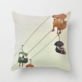tram Throw Pillow