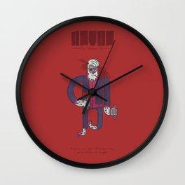 Anton, The Valentine's Yeti Wall Clock