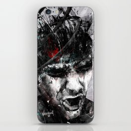 Spiral Combustion iPhone Skin