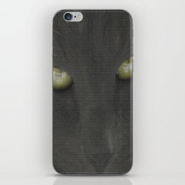 walls have eyes iPhone Skin