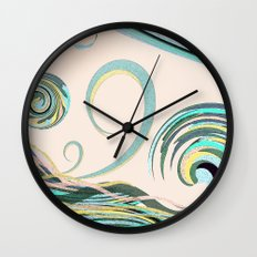 In the Drink Wall Clock