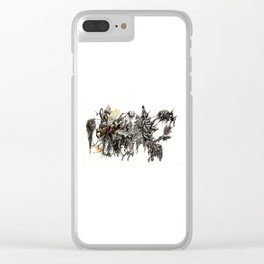 Vile Cosmos (of which we are part) by Brian Benson Clear iPhone Case
