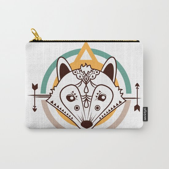 Ethnic - Fox Carry-All Pouch