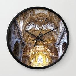 Santa Maria dell'Orto Church, Rome, Italy Wall Clock