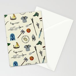 Lord of the pattern Stationery Cards