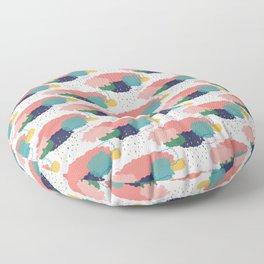 Cloudy shower pattern Floor Pillow